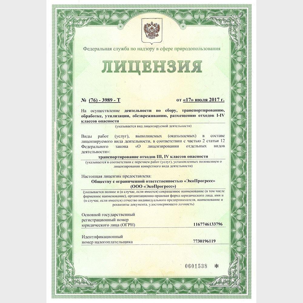 БиоЭкоСистемы - Лицензия 1