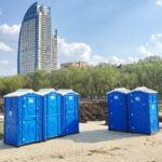 Аренда туалетных кабин - биотуалетов 009