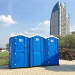 Аренда туалетных кабин - биотуалетов 010