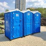 Аренда туалетных кабин - биотуалетов 014