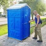 Аренда туалетных кабин - биотуалетов 022