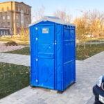 Аренда туалетных кабин - биотуалетов 025