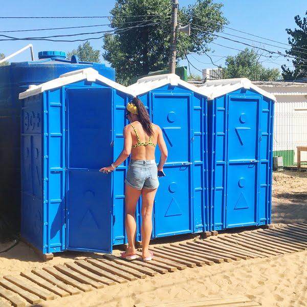 Аренда туалетных кабин - биотуалетов 033