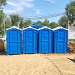 Аренда туалетных кабин - биотуалетов 036