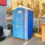 Аренда туалетных кабин - биотуалетов 046