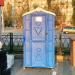 Аренда туалетных кабин - биотуалетов 048