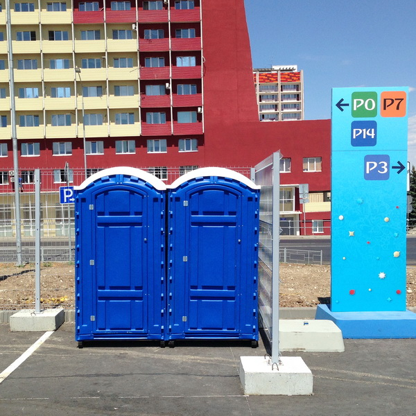 Аренда туалетных кабин - биотуалетов 051