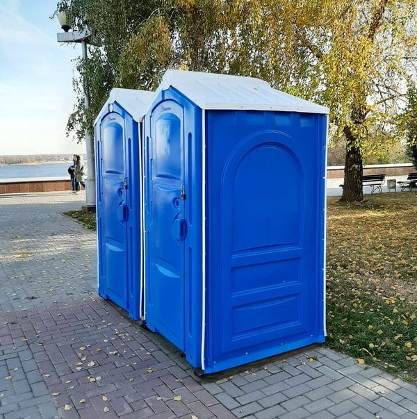 Аренда туалетных кабин - биотуалетов 052