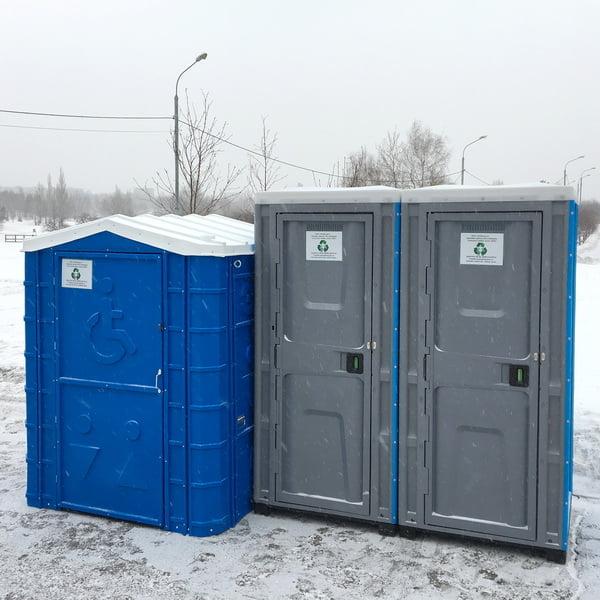 Аренда туалетных кабин - биотуалетов 054