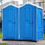 БУ туалетная кабина недорогая дешевая 021