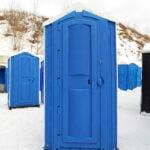 БУ туалетная кабина недорогая дешевая 022