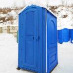 БУ туалетная кабина недорогая дешевая 023