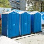 БУ туалетная кабина недорогая дешевая 030