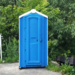 БУ туалетная кабина недорогая дешевая 031