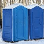 БУ туалетная кабина недорогая дешевая 034