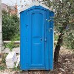 БУ туалетная кабина недорогая дешевая 039