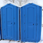 БУ туалетная кабина недорогая дешевая 045