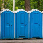 БУ туалетная кабина недорогая дешевая 046