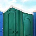 БУ туалетная кабина недорогая дешевая 047