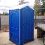 БУ туалетная кабина недорогая дешевая 050
