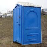 БУ туалетная кабина недорогая дешевая 051