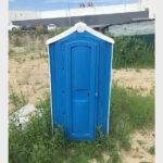БУ туалетная кабина недорогая дешевая 052