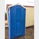 БУ туалетная кабина недорогая дешевая 054