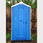 БУ туалетная кабина недорогая дешевая 055
