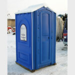 БУ туалетная кабина недорогая дешевая 060