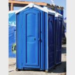 БУ туалетная кабина недорогая дешевая 061