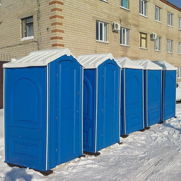 БУ туалетная кабина недорогая дешевая 064
