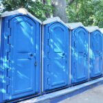 БУ туалетная кабина недорогая дешевая 066