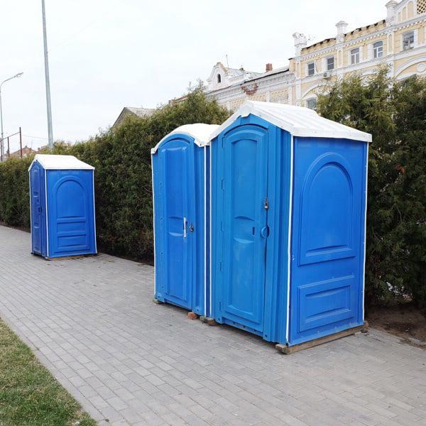 БУ туалетная кабина недорогая дешевая 067-2
