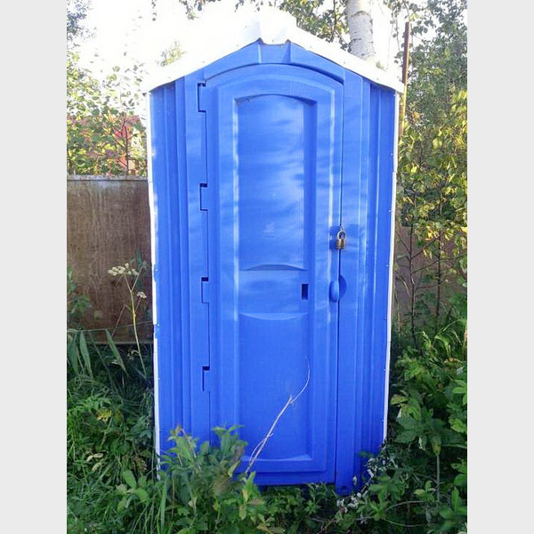 БУ туалетная кабина недорогая дешевая 068