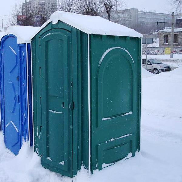 БУ туалетная кабина недорогая дешевая 069