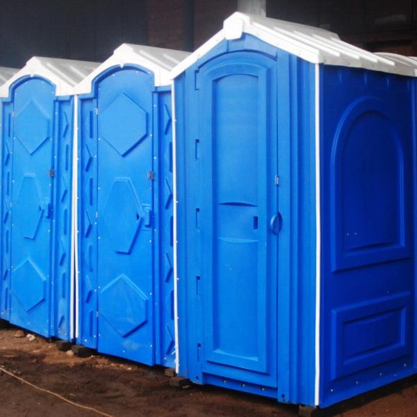 БУ туалетная кабина недорогая дешевая 070