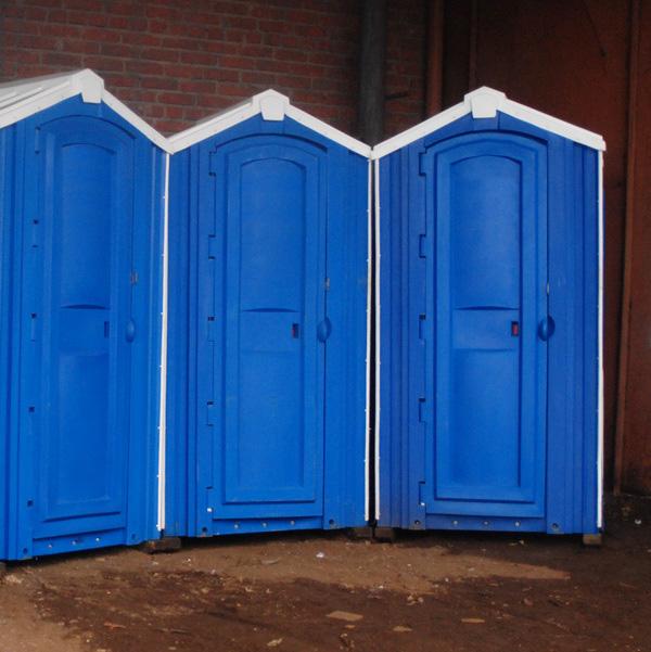 БУ туалетная кабина недорогая дешевая 071