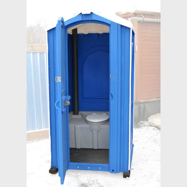 БУ туалетная кабина недорогая дешевая 072