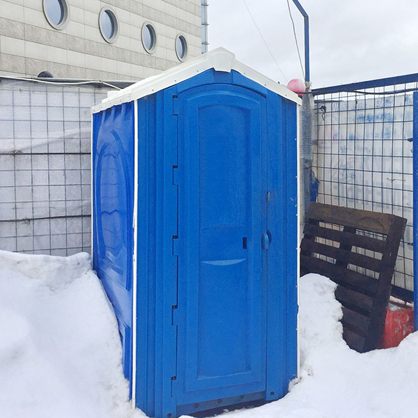 БУ туалетная кабина недорогая дешевая 073