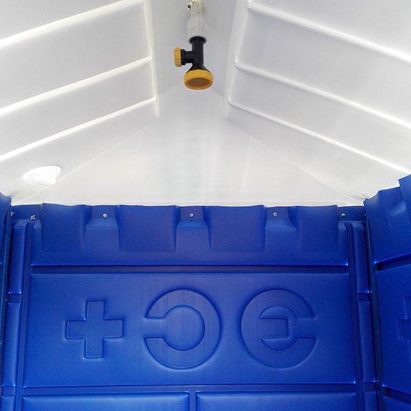 Душевая кабина теплый летний душ 001