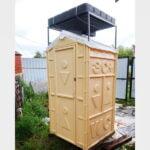 Душевая кабина теплый летний душ 022
