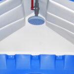 Душевая кабина теплый летний душ 034
