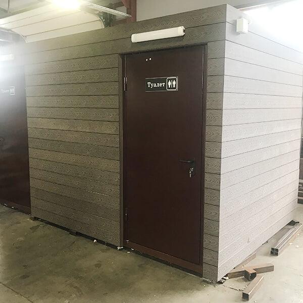 Автономный туалетный модуль 7