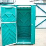 Туалетная кабинка для дачи Эконом-универсал 1