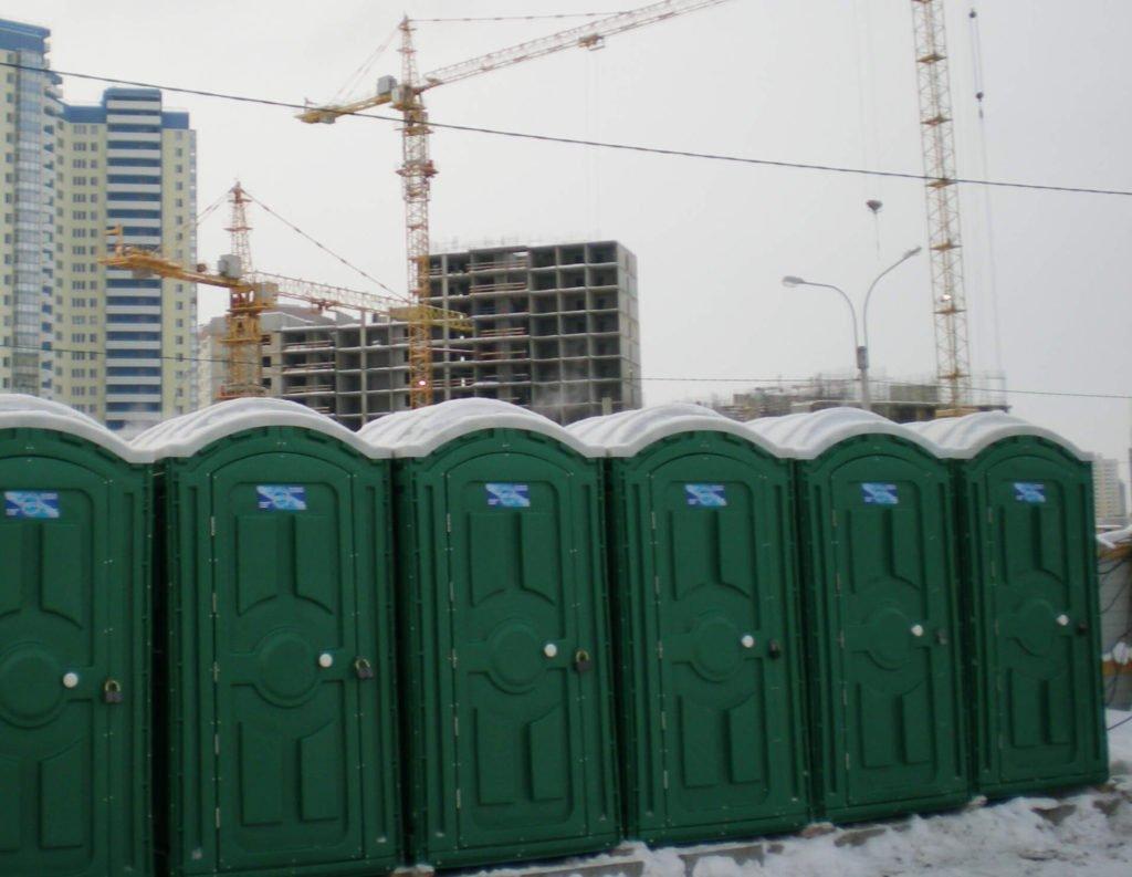 Аренда туалетных кабинок в Москве 19