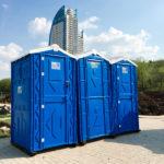 Аренда туалетных кабинок в Москве