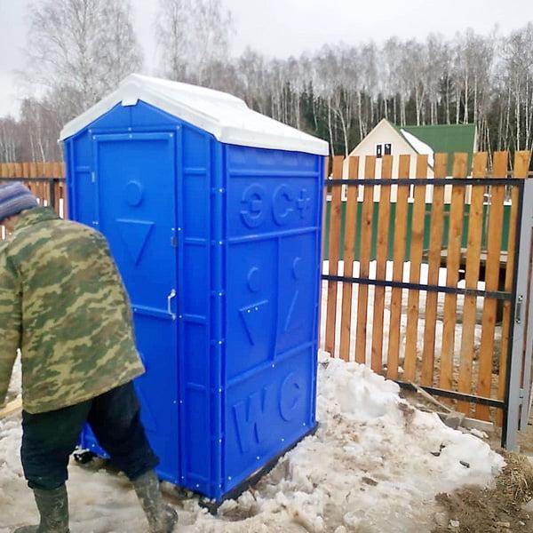 Пластиковый биотуалет Эконом Комфорт 030