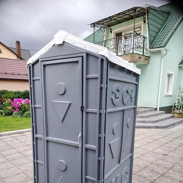 Пластиковый биотуалет Эконом Комфорт 044
