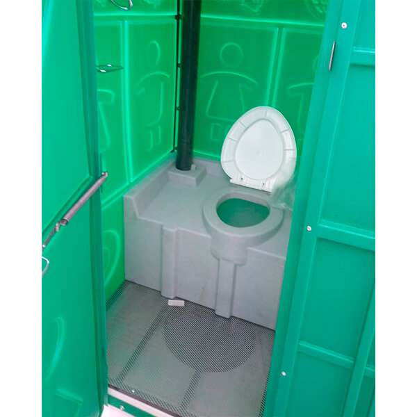 Туалет с летним душем для дачи 19
