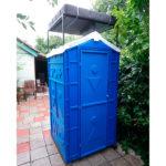 Туалет с летним душем для дачи 7